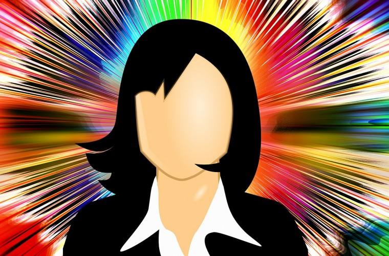 jefe, lider, climá empresarial, colores, dibujos animados
