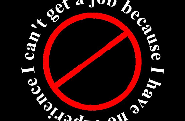 entrevista, trabajo, consejos, silueta, no experiencia