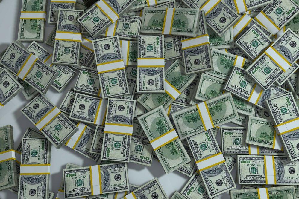 salario, dinero, billetes, fajos de dinero, money