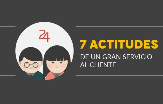 actitudes para servicio al cliente