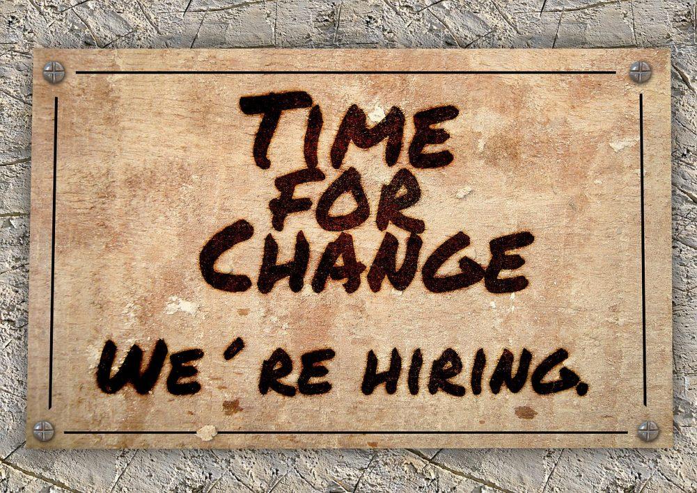 empleo, cambio, oportunidad laboral, empresas, candidato