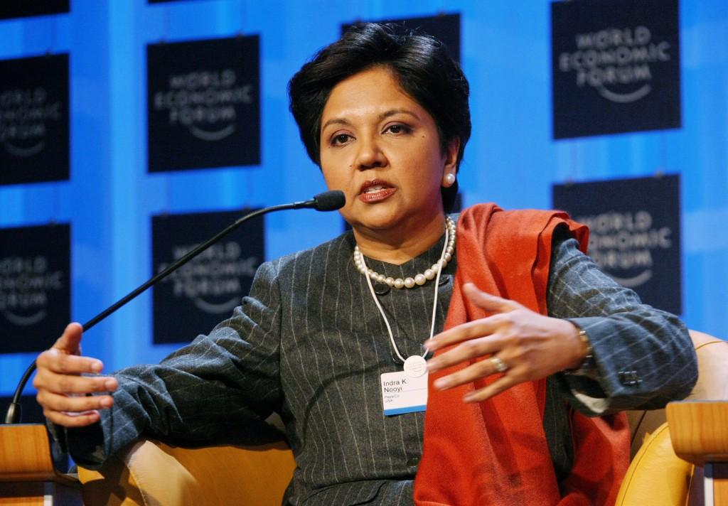 Indra nooyi, ceo pepsi co, mujer emprendedorea, mujer ceo, mujer mundo de los negocios, feliz dia de la mujer