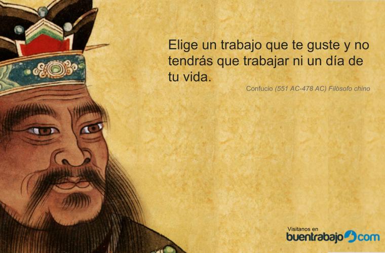 Proverbio chino sobre el trabajo confucio