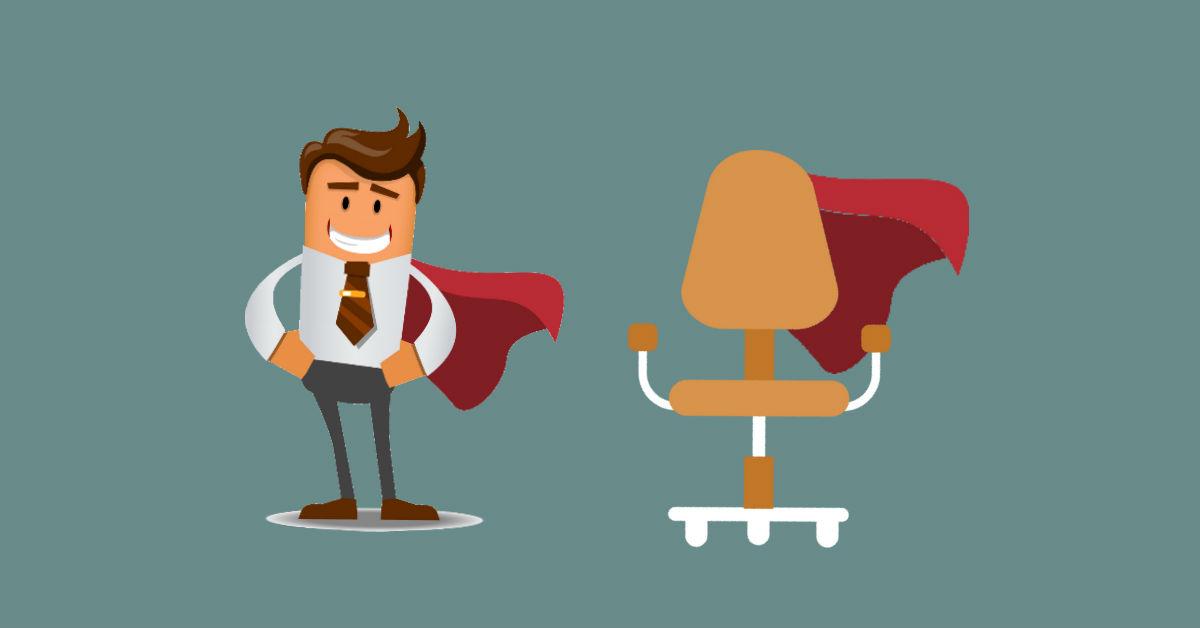 silla, comodidad, comodidad en la oficina
