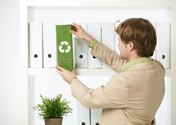 encontrar trabajo, trabajo de oficina, ayudar al medio ambiente desde la oficina, oficina sostenible